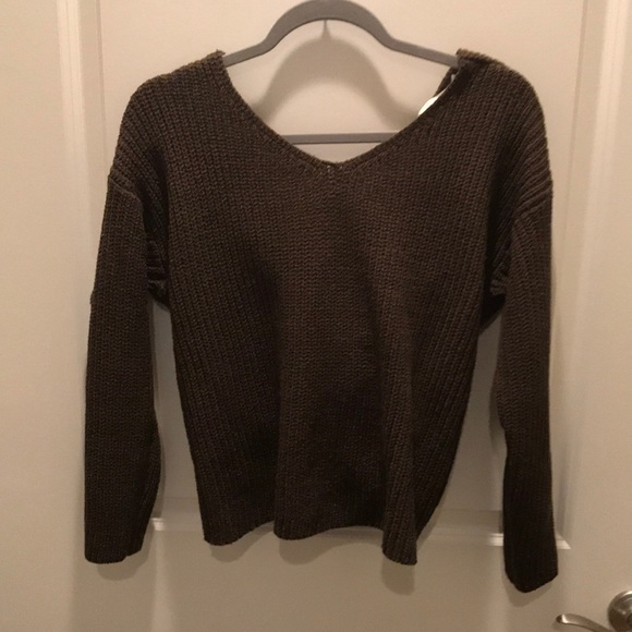 1376efb57960a Astr Sweaters   The Label Twist Back Sweater   Poshmark